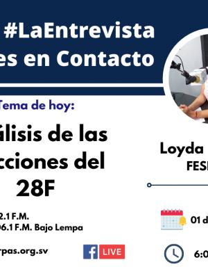 FESPAD participa en análisis de proceso electoral del 28F