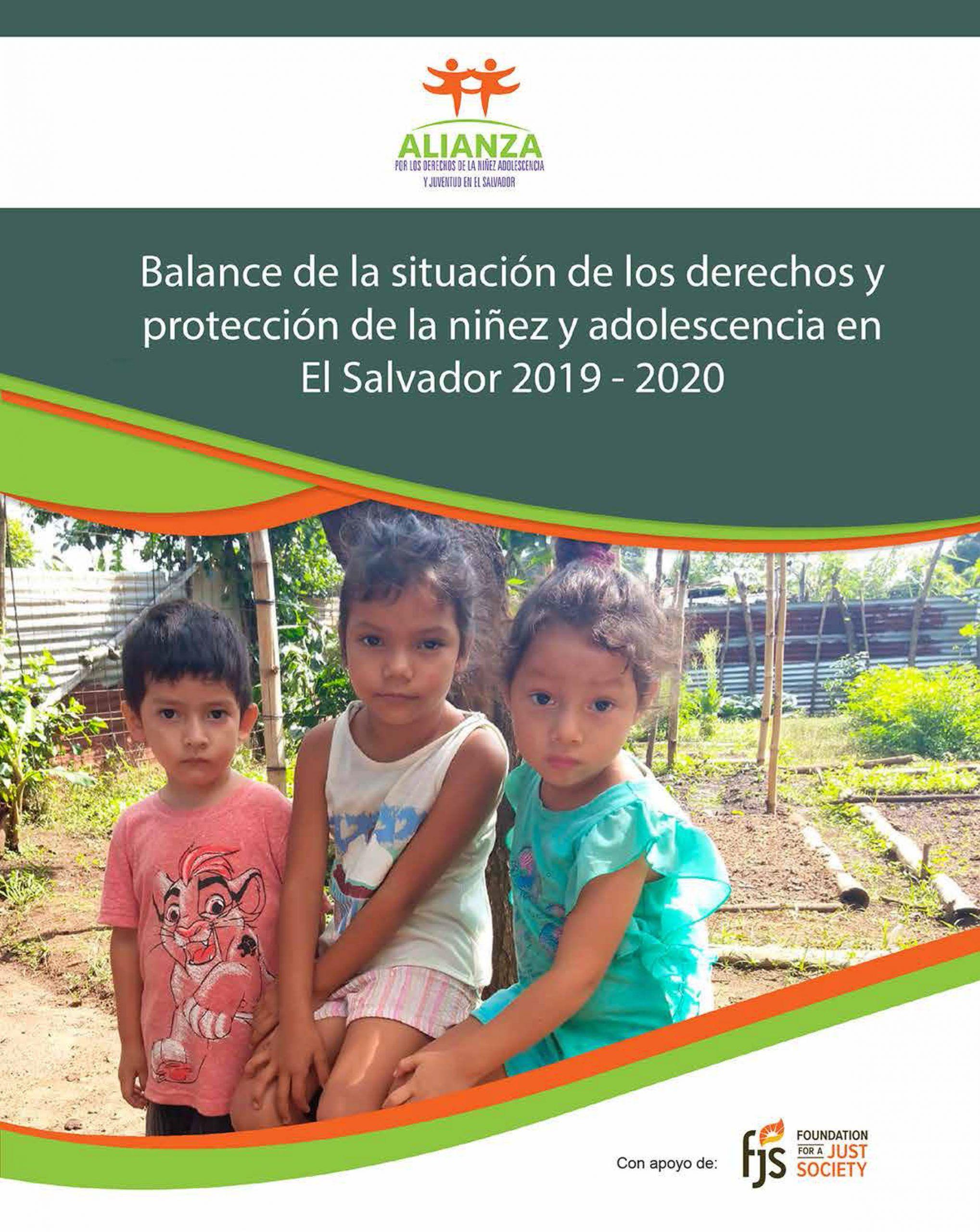 Balance de la situación de los derechos y protección de la niñez y adolescencia (2019- 2020)