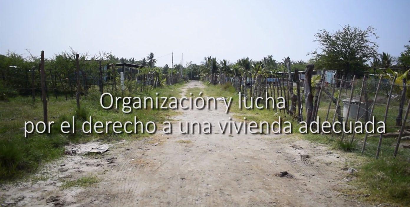 Organización y lucha por el derecho a una vivienda adecuada