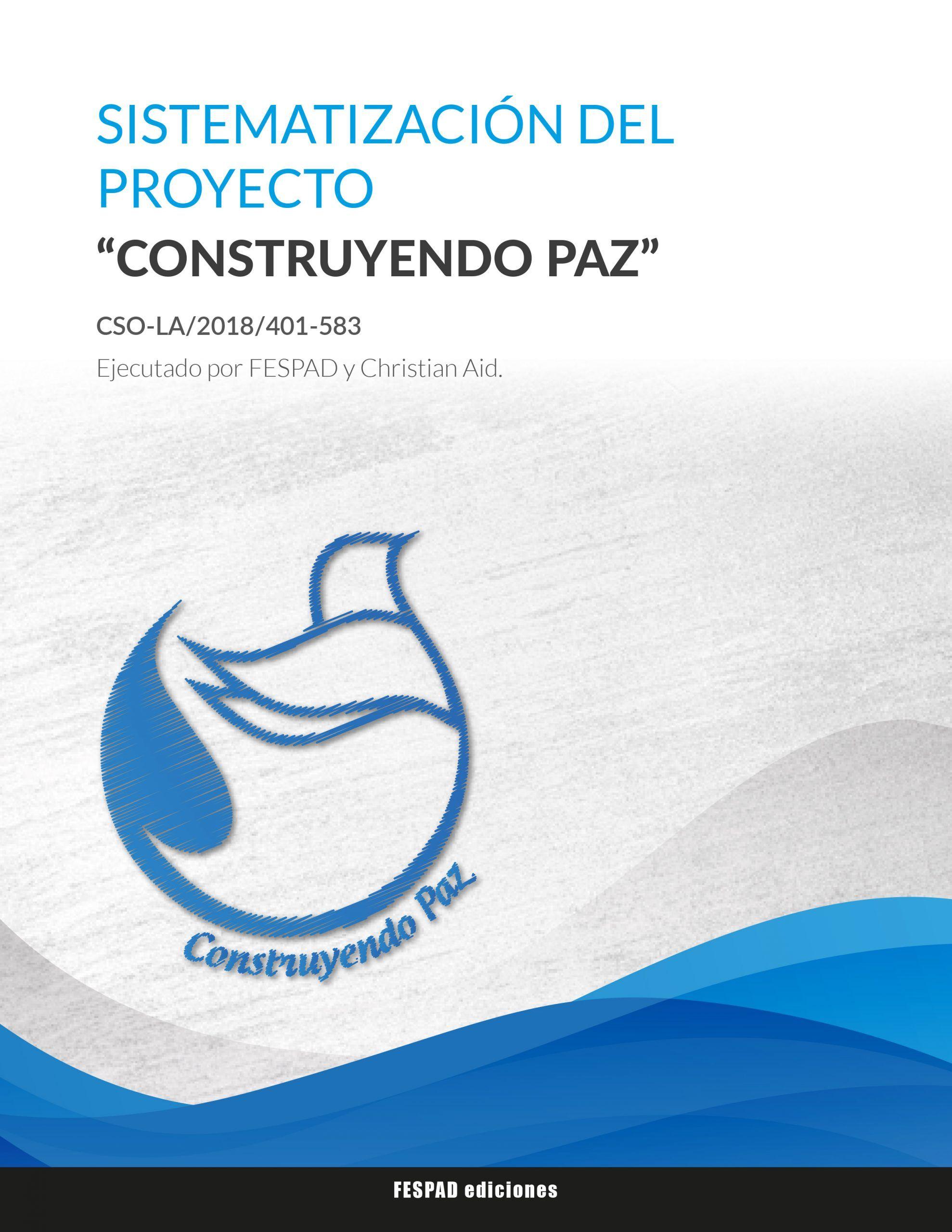 Sistematización del proyecto Construyendo Paz