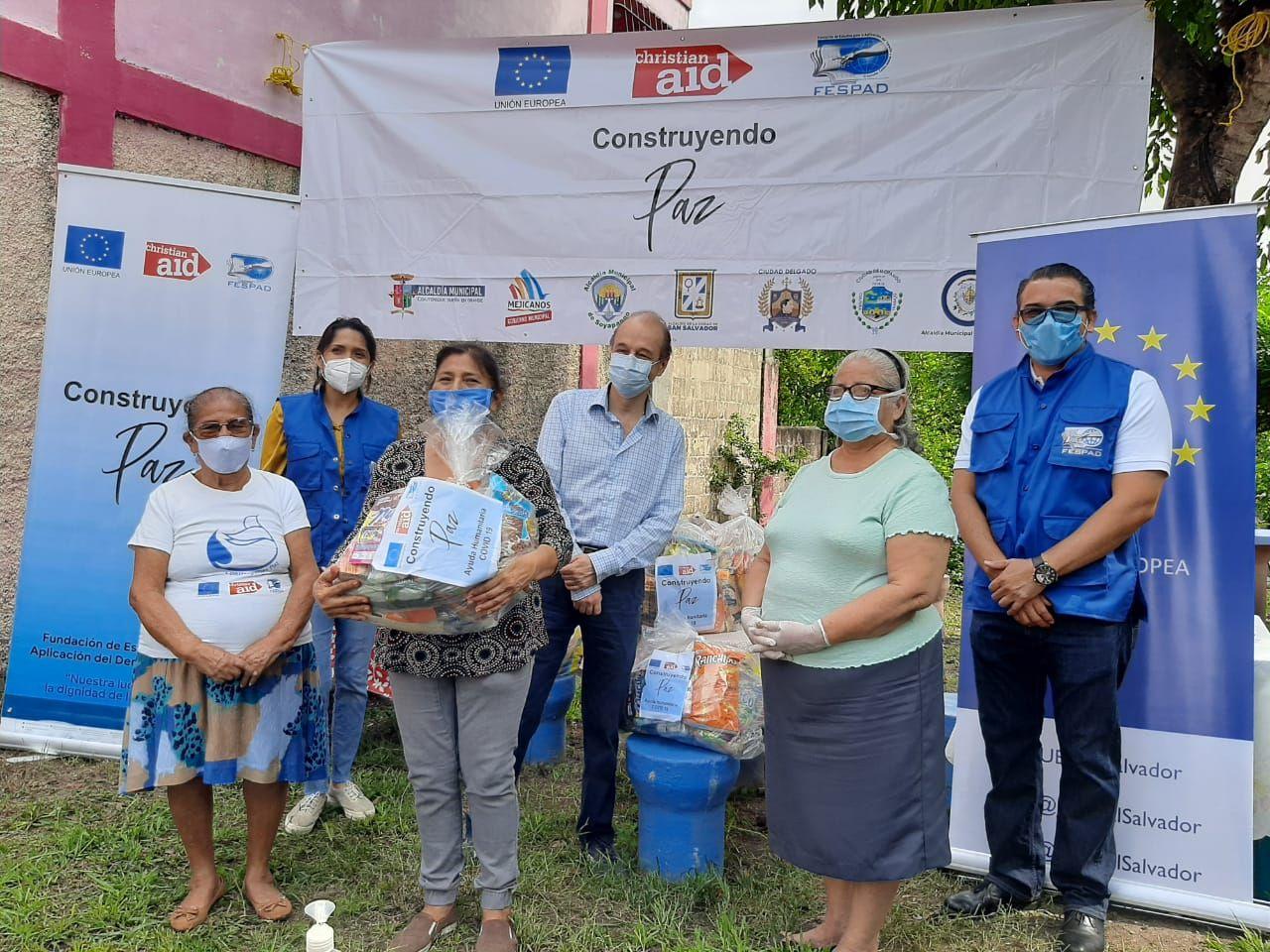 «Construyendo paz» entrega ayuda solidaria en el marco de la emergencia por COVID-19